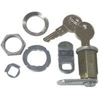 "CL49320 Sierra Marine CAM LOCK Kit w/Hardware & Keys, 7/8"" Depth"