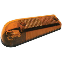 E116A Amber Clearance/Side Marker Light with Reflex