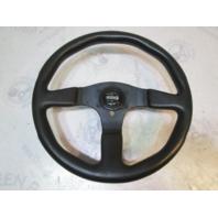 "13.5 Inch 3 Spoke MOMO Marine Boat Steering Wheel 3/4"" Shaft"