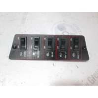 1987 Bayliner Capri Boat Dash Panel Switches