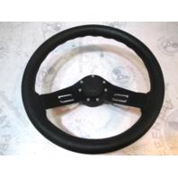 "Black Medium 13 3/4"" Teleflex Boat Steering Wheel"