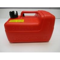 8M0060610 Quicklsilver Mercury Mariner Marine Boat Plastic Red Gas Tank 3 Gallon