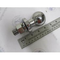 """5004 Shelby 2"""" Solid Steel Trailer Hitch Ball, Chrome Plate"""