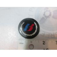 Bayliner Capri Round B Emblem from Gas Cap, Steering Wheel & Windshield Sides