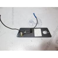1987 Bayliner Capri Boat Dash Ignition Key Switch Panel W/O Ignition Switch