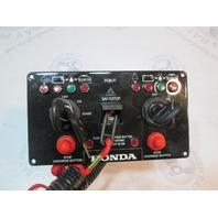Honda Marine Outboard Dual Ignition Key Switch Panel Station