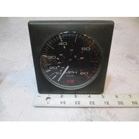 "Bayliner Capri Square US Marine Faria Speedometer Gauge Force 80s-90s 5"""