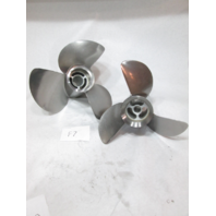 Volvo Penta Stainless Steel Duo Prop Set Type F F7 Front 3851467 & Rear 3851477