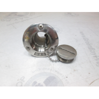 SeaRay 180 Stainless Marine Gas Fuel Boat Filler Cap & Tube