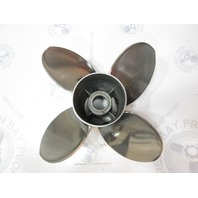 48-825902A46 Mercury Offshore Series 4 Blade W/PVS Stainless Prop 14X21P RH