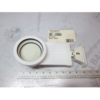 239064 Sealand Sanipottie 960 White Slide Valve Assembly