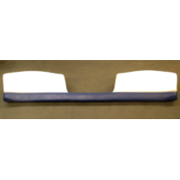 2005 Glastron GS 219 Boat Rear Seat Back Rest Cushion Blue White