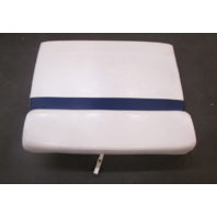 2005 Glastron GS 219 Boat Rear Seat Port Side Cushion Blue White