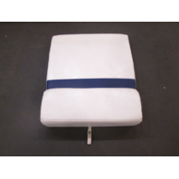 2005 Glastron GS 219 Boat Rear Seat Center Cushion Blue White