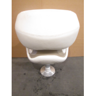 2005 Glastron GS 219 Boat Bolstered Captains Seat White Tan