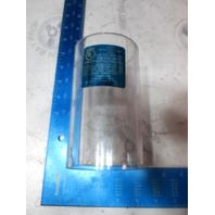 "049300599C Perko 493 Series #5 Water Strainer Transparent Cylinder 3.5"" X 6"""