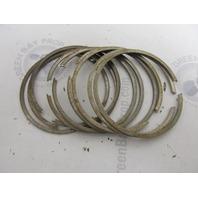 39-45205A12 Fits Mercury Merc 650 1100 65/110 HP .015 OS Piston Ring Set of 9