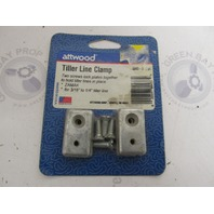 "8043-3 Attwood Marine Tiller Line Clamp 3/16"" to 1/4"""