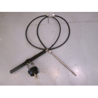Teleflex 13' Rack and Pinion Boat SSC12413 Steering Cable With Helm