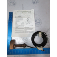 DST54 Standard Comm. Corp. Thru-Hull Bronze Depth Transducer For DS40, DS30