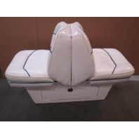 1998 Sea Ray Signature 230 Boat Back to Back Seat & Base Stand White And Blue