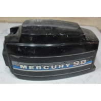 2160-7264A10 Top Engine Cowling Cover for Mercury 7.5 9.8 Hp Outboard Black