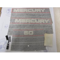 37-811212A94 Fits Mercury 60 Black Outboard Cowl Decal Set