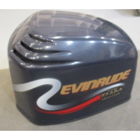 0285390 Johnson Evinrude Ficht Blue Top Engine Motor Cover Cowling Hood 200 Hp