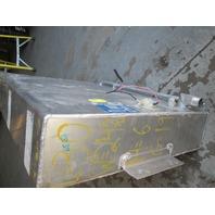 "Aluminum Marine Boat Gas Fuel Tank 19 Gallon 30"" x 24.5"" x 6"""