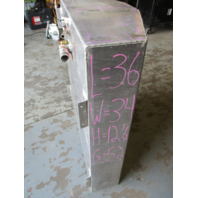 "Aluminum Marine Boat Gas Tank Fuel Cell 52 Gallon 36"" x 34"" x 12 1/2"""