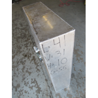 "Aluminum Marine Boat Gas Tank Fuel Cell 55 Gallon 41"" x 31"" x 10"""