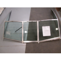 1983 Sea Ray 192 Boat Walk Through Windshield Window Glass Tinted