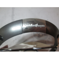 Rockford Fosgate Marine Chrome Plastic Speaker Cover Grill