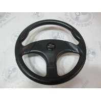 "Sea Ray Signature 230 Schmitt Marine Boat Steering Wheel 13.5"" Black Plastic"