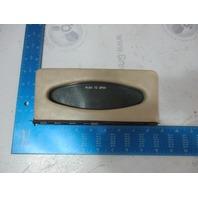 "Sea Ray Signature 230 Marine Boat Dashboard Radio Cover Access Panel 8.5"" x 3.5"""