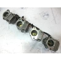 824902A Mercury Mariner Outboard WME-51 WME-80 Carb Carburetor Set (4) 115 HP