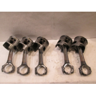 69L-11650-00-00 Yamaha VZ225HTLR 3 Port And 2 Stbd Pistons And Connecting Rods