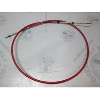 032377-003-084.0 Morse Red Jacket 33C Control Cable 7'