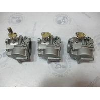 395579 395578 Evinrude Johnson Outboard 70 HP Carb Carburetor Set Complete 1985