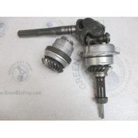 0984581 21:21 Gear Set & Drive Shaft OMC Cobra Stern Drive Upper Unit 2.3