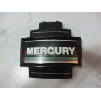 "Mercury Mariner 2 Cylinder Outboard  Black Silver Front Cowl Cover 8"" x 7 1/4"""