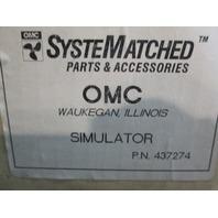 437274 0437274 OMC Evinrude Johnson SystemCheck Simulator