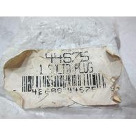"44675 Midland Metals Manufacturing  1"" Bronze Square Head Solid Plug"