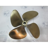 13.7 X 17.5 OJ 4 Blade LH 456 MasterCraft  Splined Propeller
