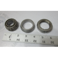 0983878 0911937 OMC Cobra Upper U-Joint Bearing, Nut, Centering Cone Kit 0912029