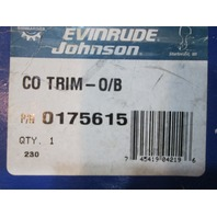 175615 0175615 Evinrude Johnson Outboard Concept Series Trim Gauge