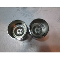 "Model 1810 Chrome 1.810"" Bearing Buddy Trailer Wheel Bearing Protector"