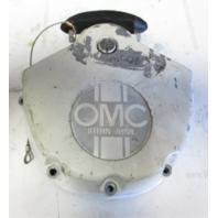 0382463 OMC Stringer Upper Gearcase Exhaust Housing Cover W/ Emblem 313213