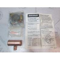 """72932A2 Quicksilver Mercruiser Hot Water Heater Kit for 1 1/2"""" hose"""