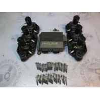 439563 439562 439127 586363 1998 Evinrude Ficht 150HP Heads, Injectors, and ECU